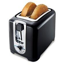 2-Slice Wide Slot Toaster
