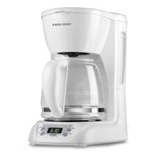 12 Cup Programmable Coffeemaker Glass Carafe