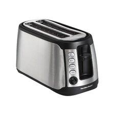 Long Slot 4 Slice Toaster