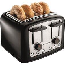 4 Slice Extra Wide Slot Toaster