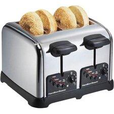 4 Slice Chrome Toaster