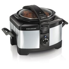 4 Quart Connectable Slow Cooker