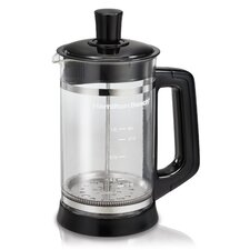 French Press Coffee Maker with Cocoa Attachment