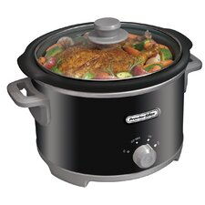 4-Quart Round Slow Cooker
