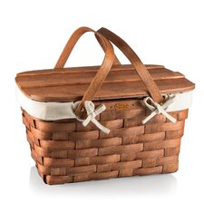Prairie Picnic Basket with Lining