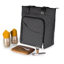 Anthology 9 Piece Sonoma Wine and Cheese Tote Set