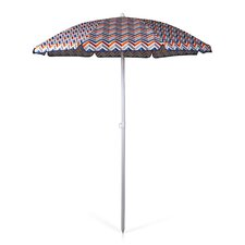 5.5' Vibe 2 Piece Portable Beach/Picnic Umbrella Set