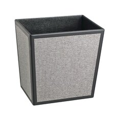 Bath and Home 3.25-Gal Frieze Rectangular Waste Basket