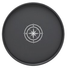"Compass Point 16"" Round Serving Tray"