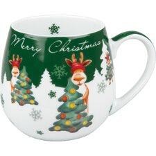 Kuschelbecher Merry Christmas-Weihnachtselch
