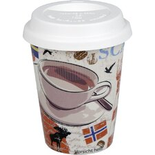 Becher Coffee to go in Cosmopolitan Coffee Style in Scand.