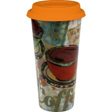 6-tlg. Becher Coffee to go