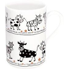 2-tlg. Becher Little Farm Cows