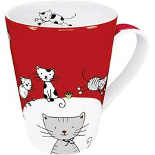 Globetrotter Cat Mug (Set of 2)