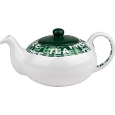 "1,4 L Teekanne ""Tea"" in Weiß mit Deckel"