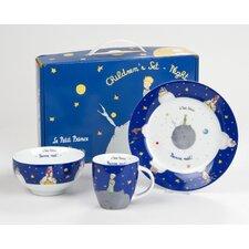 3-tlg. Kindergeschirr-Set Petit Prince Bonne Nuit aus Porzellan