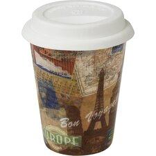 6-tlg. Becher Coffee to go in Bon Voyage!
