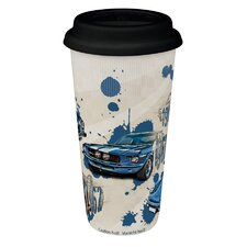 4-tlg. Becher Coffee to go
