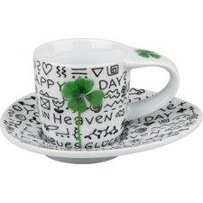 4-tlg. 2-tlg. Teeservice Geschenke für jeden Anlass aus Porzellan