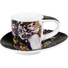 4-tlg. 2-tlg. Teeservice Tiere aus Porzellan