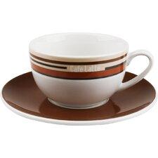 Latte-Kaffeetassen-Set Coffee Stripes