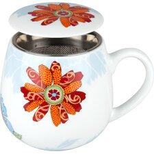 8.9 cm Tea for you Bijou - Blüte aus Porzellan
