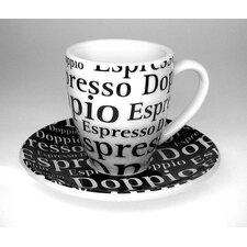 4-tlg. 2-tlg. Becher-Set Coffee Bar