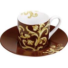 4-tlg. 2-tlg. Espressotassen-Set Golden Times