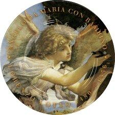 2-tlg. 30,5 cm Teller Angelo da Maria con Bambino