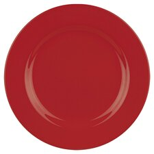 Fun Factory Dinner Plate in Red (Set of 4)