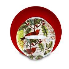 Einzelnes Gedeck Traditions 3 Greetings aus Porzellan