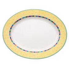 """Platte oval """"Twist Alea Limone"""""""