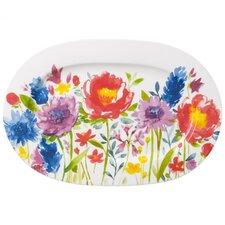 Platte Anmut Flowers aus Premium Bone China
