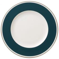 27 cm Speiseteller Anmut My Colour Emerald Green aus Premium Bone China in Weiß