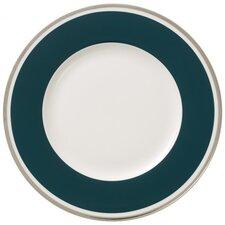22 cm Frühstücksteller Anmut My Colour Emerald Green aus Premium Bone China in Weiß