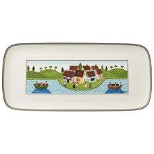 35 cm x 16 cm Kuchenplatte Charm & Breakfast Design Naif