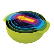 Nest 9 Piece Mixing Bowl Set