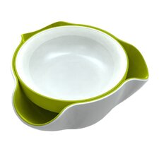 Melamine Double Divided Serving Dish
