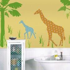 WallPops Kits ZooWallogy Riley The Giraffe Wall Decal
