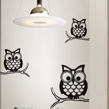 Wall Art Kit Give a Hoot Small Wall Decal