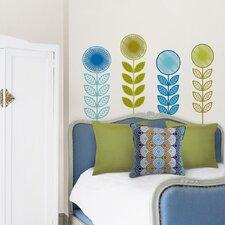 Jonathan Adler 44 Piece Flower Garland Wall Decal Set