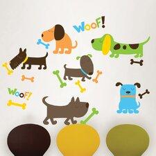 Wall Art Kit Puppy Love Wall Decal