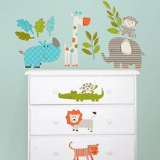 Wall Art Kit Lets Go On Safari Wall Decal