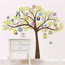 Wall Art Kit Owl Tree Wall Decal