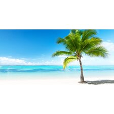 Home Decor Line Palms and Sea Wall Mural