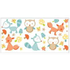 Fun4Walls Forest Friends Wall Decal