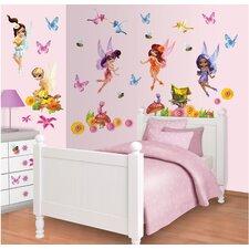 Walltastic Wall Art Magical Fairies Wall Decal