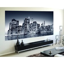 Home Decor Line Night View Wall Mural