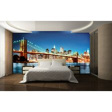 Ideal Decor New York East River Wall Mural