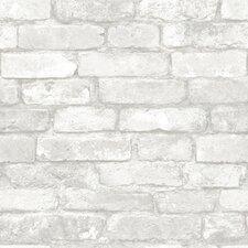 "18' x 20.5"" Brick Peel and Stick Wallpaper"